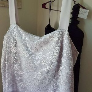 Lovely Silver mother of the bride dress